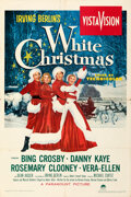 """Movie Posters:Musical, White Christmas (Paramount, 1954). Folded, Fine/Very Fine. One Sheet (28"""" X 42"""").. ..."""
