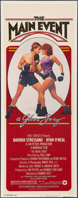 """The Main Event (Warner Bros., 1979). Rolled, Very Fine-. Insert (14"""" X 36""""). Sports"""