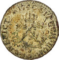 1740-A French Colonies Half Sou Marque, Vlack-295, MS63 NGC. Ex: Donald G. Partrick Collection. NGC Census: (0/0). PCGS...