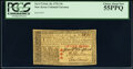 Colonial Notes:New Jersey, New Jersey February 20, 1776 15s PCGS Choice About New 55PPQ.. ...