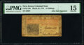 Colonial Notes:New Jersey, New Jersey March 25, 1776 15s PMG Choice Fine 15.. ...