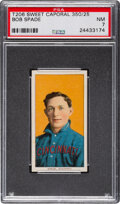 Baseball Cards:Singles (Pre-1930), 1909-11 T206 Sweet Caporal 350/25 Bob Spade PSA NM 7 - Pop One, None Higher for Brand/Series/Factory....