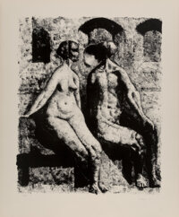 Armando Morales (1927-2011) Untitled, 1977 Lithograph on wove paper 29 x 24 inches (73.7 x 61 cm) (sheet) Ed. 11/77