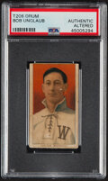 Baseball Cards:Singles (Pre-1930), 1909-11 T206 Drum Bob Unglaub PSA Authentic - The Only PSA-Graded Example! ...