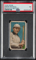 Baseball Cards:Singles (Pre-1930), 1909-11 T206 Drum Simon Nicholls (Batting) PSA Poor 1 - The Only Drum Back on the PSA Census! ...