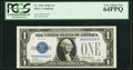 Small Size:Silver Certificates, Fancy Serial Number 89990990 Fr. 1601 $1 1928A Silver Cert...
