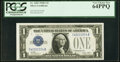 Small Size:Silver Certificates, Radar Serial Number 42222224 Fr. 1601 $1 1928A Silver Cert...