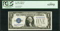 Small Size:Silver Certificates, Fancy Serial Number 19999998 Fr. 1601 $1 1928A Silver Certificate. PCGS New 62PPQ.. ...