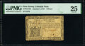 Colonial Notes:New Jersey, New Jersey January 9, 1781 6d PMG Very Fine 25.. ...