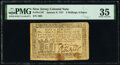 Colonial Notes:New Jersey, New Jersey January 9, 1781 3s 6d PMG Choice Very Fine 35.. ...