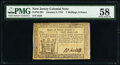 Colonial Notes:New Jersey, New Jersey January 9, 1781 7s 6d PMG Choice About Unc 58.. ...