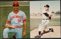 Autographs:Photos, Hall of Famers & Stars Single Signed Photographs & Cuts - Over 40!...