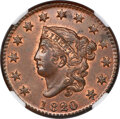 1820/19 1C N-3, R.2, MS65 Red and Brown NGC. CAC....(PCGS# 36686)