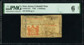 Colonial Notes:New Jersey, New Jersey 1786 3s PMG Good 6 Net.. ...
