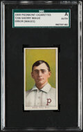"""Baseball Cards:Singles (Pre-1930), 1909-11 T206 Piedmont Sherry Magee """"Magie"""" Error SGC Authentic...."""