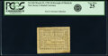 Colonial Notes:New Jersey, New Jersey- Borough of Elizabeth March 25, 1790 3d PCGS Very Fine 25.. ...