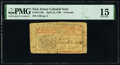 Colonial Notes:New Jersey, New Jersey April 12, 1760 £3 PMG Choice Fine 15.. ...