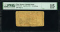 Colonial Notes:New Jersey, New Jersey April 23, 1761 15s PMG Choice Fine 15.. ...