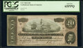 Confederate Notes:1864 Issues, T67 $20 1864 PF-12 Cr. 513 PCGS Gem New 65PPQ.. ...