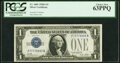 Small Size:Silver Certificates, Fancy Serial Number 77779999 Fr. 1601 $1 1928A Silver Cert...