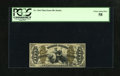 Fractional Currency:Third Issue, Fr. 1364 50c Third Issue Justice PCGS Choice About New 58. The minute amount of handling cannot be seen through the third-pa...