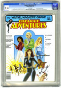 Magazines:Science-Fiction, Bizarre Adventures #25 (Marvel, 1981) CGC NM 9.4 White pages. ...