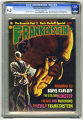 Bronze Age (1970-1979):Horror, Castle of Frankenstein #24 (Gothic Castle Printing, 1974) CGC VG+4.5 Off-white to white pages. Ken Beale text story. Boris ...