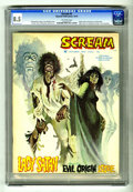 Bronze Age (1970-1979):Horror, Scream #2 (Skywald, 1973) CGC VF+ 8.5 Off-white pages. Al Hewetsonstories. Jose Miralles cover. Maelo Cintron, Ricardo Vill...