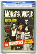 Silver Age (1956-1969):Horror, Monster World #2 (Warren, 1965) CGC VF 8.0 Off-white to whitepages. King Kong, Lon Chaney, and Vincent Price articles and p...