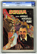 Bronze Age (1970-1979):Horror, Scream #3 (Skywald, 1973) CGC FN/VF 7.0 Off-white pages. AlHewetson story. Villanova cover. Jesus Duran and Maelo Cintron a...