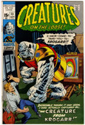 Bronze Age (1970-1979):Horror, Creatures on the Loose #13 (Marvel, 1971) Condition: NM+....