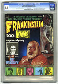 Magazines:Horror, Castle of Frankenstein #13 (Gothic Castle Printing, 1969) CGC VF+8.5 Off-white pages. ...
