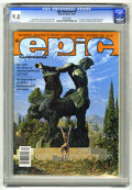 Magazines:Science-Fiction, Epic Illustrated #9 (Marvel, 1981) CGC NM/MT 9.8 White pages. ...