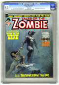 Bronze Age (1970-1979):Horror, Tales of the Zombie #1 (Marvel, 1973) CGC NM- 9.2 Off-white pages.Steve Gerber story. Boris Vallejo cover. John Buscema, To...