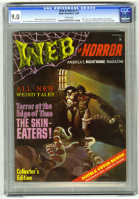 Web of Horror #1 (Major Magazines, 1969) CGC VF/NM 9.0 White pages