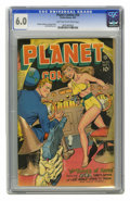 Golden Age (1938-1955):Science Fiction, Planet Comics #50 (Fiction House, 1947) CGC FN 6.0 Light tan tooff-white pages. Murphy Anderson, George Evans, and Rudy Pal...