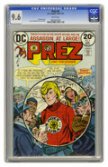 Bronze Age (1970-1979):Miscellaneous, Prez #3 (DC, 1974) CGC NM+ 9.6 White pages. Jerry Grandenetti coverand art. Overstreet 2005 NM- 9.2 value = $18. CGC census...