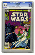 Modern Age (1980-Present):Science Fiction, Star Wars #48 (Marvel, 1981) CGC NM+ 9.6 White pages. Princess Leiafaces Darth Vader. Carmine Infantino cover and art. Over...