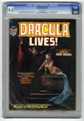 Bronze Age (1970-1979):Horror, Dracula Lives! #2 (Marvel, 1973) CGC NM- 9.2 Off-white pages. Firsttime origin of Dracula. Jordi Penalva cover. Neal Adams,...
