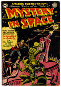 Golden Age (1938-1955):Science Fiction, Mystery in Space #3 (DC, 1951) Condition: Apparent FN....