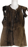 "Movie/TV Memorabilia:Costumes, Richard Harris Costume Tunic from ""Cromwell."" A heavy costume tunic worn by Harris in the 1970 historical drama in which he ..."