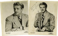 Music Memorabilia:Autographs and Signed Items, Bunny Berigan Signed and Unsigned Portraits. One of the greatest trumpeters of all time, Bunny Berigan (1908-1942) had a sen... (Total: 2 )