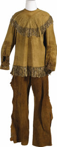 "Movie/TV Memorabilia:Costumes, Bobby Blake ""Little Beaver"" Outfit - Shirt, Pants and Shoes andPhotos. Decades before Robert Blake fully scored as the dram..."