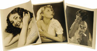 "Autographed Photos of Marceline Day, Mary Nolan and Marion Shilling. Beautiful 11"" x 14"" matte finish inscribe..."