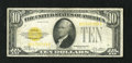 Small Size:Gold Certificates, Fr. 2400 $10 1928 Gold Certificate. PCGS Very Good 10.. ...