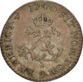 1740/(9) French Colonies Half Sou Marque, Vlack-322, XF45 NGC. Ex: Donald G. Partrick Collection. NGC Census: (0/0). PCG...