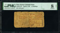 Colonial Notes:New Jersey, New Jersey April 8, 1762 12s PMG Very Good 8 Net.. ...