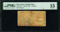 Colonial Notes:New Jersey, New Jersey April 8, 1762 £3 PMG Choice Fine 15.. ...