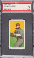 Baseball Cards:Singles (Pre-1930), 1909-11 T206 Cycle 350 John McAleese PSA EX 5 - Pop One, None Higher for Brand/Series. ...