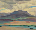 Paintings, Elmer Forsberg (American, 1883-1950). Passing Storm, 1941. Oil on canvas. 30 x 36 inches (76.2 x 91.4 cm). Signed and da...
